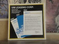 UM LEASING CORP. MASTER RECORDING PROGRAM - LP TAX SHELTER PROGRAM BEATLES