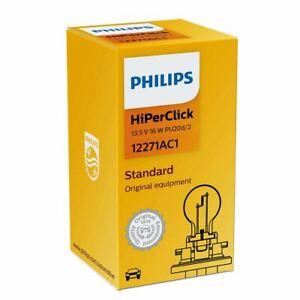 PHILIPS VisionPlus PCY16W 12V 16W PU20d/2 12271AC1 Halogen Indicator Bulb x1