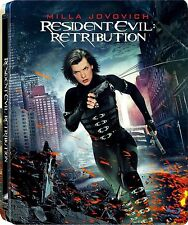 Resident Evil - Retribution blu ray Steelbook  ( NEW )