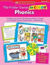 File-Folder Games in Color: File-Folder Games in Color: Phonics : 10 Ready-to-Go