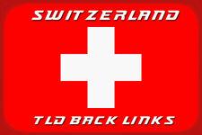 I will create 20 switzerland tld back links - 20 Schweizer tld Backlinks - SEO