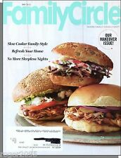 Family Circle - 2013, May - Our Makeover Issue!, No More Sleepless Nights