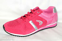 Clarks Girls pink trainers size 2.5G .NEW