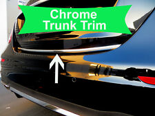 Fit KAmodels 2003-2019 Tailgate TRUNK Trim Molding - CHROME Style