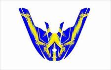 kawasaki 650 sx jet ski wrap graphics pwc stand up jetski decal kit blue 47
