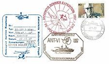 5 X Polarpost DEUTSCHLAND 1987 - II