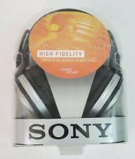 Sony Stereo Headphones 11.5 Ft Long Cord MDR-XD100 NEW OLD STOCK HIGH FIDELITY