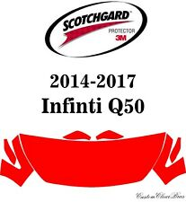 3M Scotchgard Paint Protection Film Clear Fits 2014 2015 2016 2017 Infiniti Q50