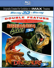 Prehistoric Powerhouse : Dinosaurs Alive/Dinosaurs: Giants of Patagonia BLU 3D