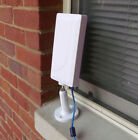 2000mW Indoor/Outdoor 2.4G Wi-Fi USB Adapter +14dBi directional antenna RV/boat