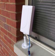 2000mW Indoor/Outdoor Wi-Fi USB Adapter & 14 dBi directional antenna RV/Marine