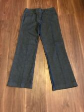 DENIM BOOTCUT JEANS DARK BLUE SIZE 12 W32 L28