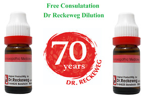 Dr Reckeweg Homeopathic 3X 6 CH 30 CH 200 CH 1000 CH Dilution 11 ml # 10 Days UK