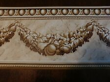 """WAVERLY WALL PAPER BORDER, 8 AVAIL. SEALED, 571620, 10"""" WIDE"""