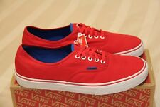d4d5f7f590 Vans Authentic  Chinese Red   Skydiver  (Size US12) New max Skate Dress