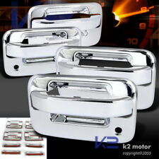 04-12 F150 Crew Cab Chrome Door Handle Covers w/Psg Keyhole w/O Keypad