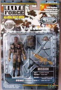 BBI Modern Elite Force 1:18 Scale USMC Point Man Clement Packer New on card