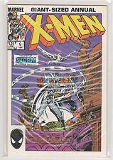 Uncanny X-men Annual #9 Colossus Storm Wolverine Walter Simonson 9.4