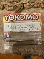 Yokomo Drift/SD/BD Shock Shaft/Ti-Coated (YS-53S-4T)