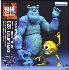 New Kaiyodo Tokusatsu Revoltech No.028 Monsters Inc. Sulley & Mike Pre-Painted