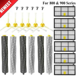 18X Vacuum Brush for iRobot Roomba Filters 800 & 900 Series Part Kit 880 890 980