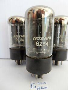 1x GZ34 Adzam NOS Double OO Mullard prod.   Tube valve Rohre
