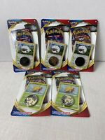 Lot Of 5 Pokemon Sword and shield Sealed With Promo And Coin NEW booster pack