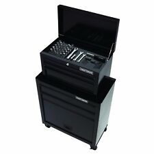 Craftsman 5 Drawer Tool Chest Wheel Cabinet Steel Storage Cart Box + 58 pc Set