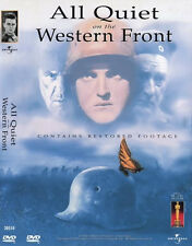 All Quiet on the Western Front  - Louise Wolheim Lew Ayres (NEW) WW1 Movie DVD