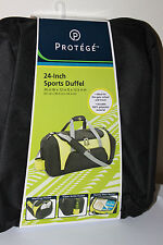 Protege 24 inch Sports Duffel Black/With Yellow Green Combination