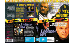 A Father's Revenge-1988-Brian Dennehy/Evidence of Love-1990-2 Movie-DVD