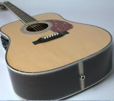 Top Quality D45P Style Electric Acoustic Guitar Ebony Fishman EQ 41'' Solid Top
