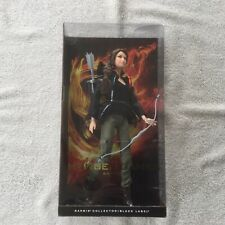 THE HUNGER GAMES KATNISS EVERDEEN BARBIE BLACK LABEL COLLECTOR DOLL