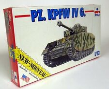 Esci 1/72 Scale 8309 PZ. KPFW IV G. German Tank Model Plastic Model Military Kit