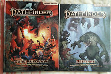 pathfinder 2nd edition core rulebook + Bestiary