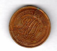 Royal Agricultural Society of Victoria Turnstile Token Admit One Adult