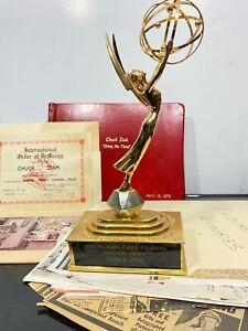 Vtg RARE Famous Celebrity EMMY AWARD Photographs Skipper Chuck Popeye Playhouse