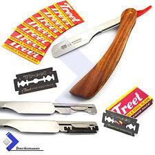 Straight Barber Hair Shaving Razor Vintage Folding Knife Beard Styling Razor Kit