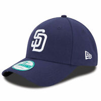 New Era x MLB Men's San Diego Padres 9Forty The League Strapback Hat Blue/Whi...