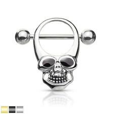 Enamel Eye Skull Nipple Shield