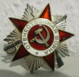 Orden UdSSR / Russland - Orden des Großen Vaterländischen Krieges II Klasse Nr.6