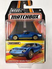 MATCHBOX 2017 BEST OF MATCHBOX LAMBORGHINI MIURA P400 S