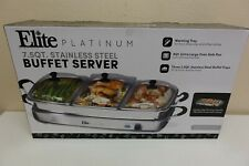 Elite Platinum EWM-9933 Triple Deluxe Buffet Server (2B)