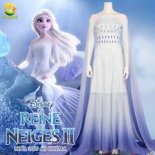 Anime Girls Cos Princess Elsa Cosplay Costume Halloween Princess Dress for Adult