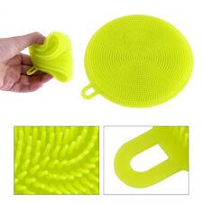 Multipurpose Antibacterial Silicone Smart Sponge Dish Kitchen Anti-hot Mat