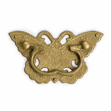 """CBH Chinese BUTTERFLY Brass Cabinet Pull Hardware Pair 4"""""""