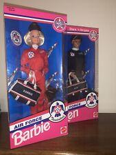 Stars 'n Stripes Air Force Thunderbirds Ken & Barbie Dolls 1993 Special Edition