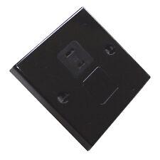 12V CLIPSAL type SOCKET SQUARE BLACK CARAVAN MOTORHOME YACHT TV COAX