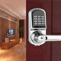 Smart Electronic Digital Code Keyless Keypad Security Entry Door Lock