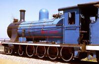 PHOTO  SOUTH AFRICAN RAILWAYS -  EX SAR CLASS 7A AT CHRYSLER WORKS 9/72 R4641 TH